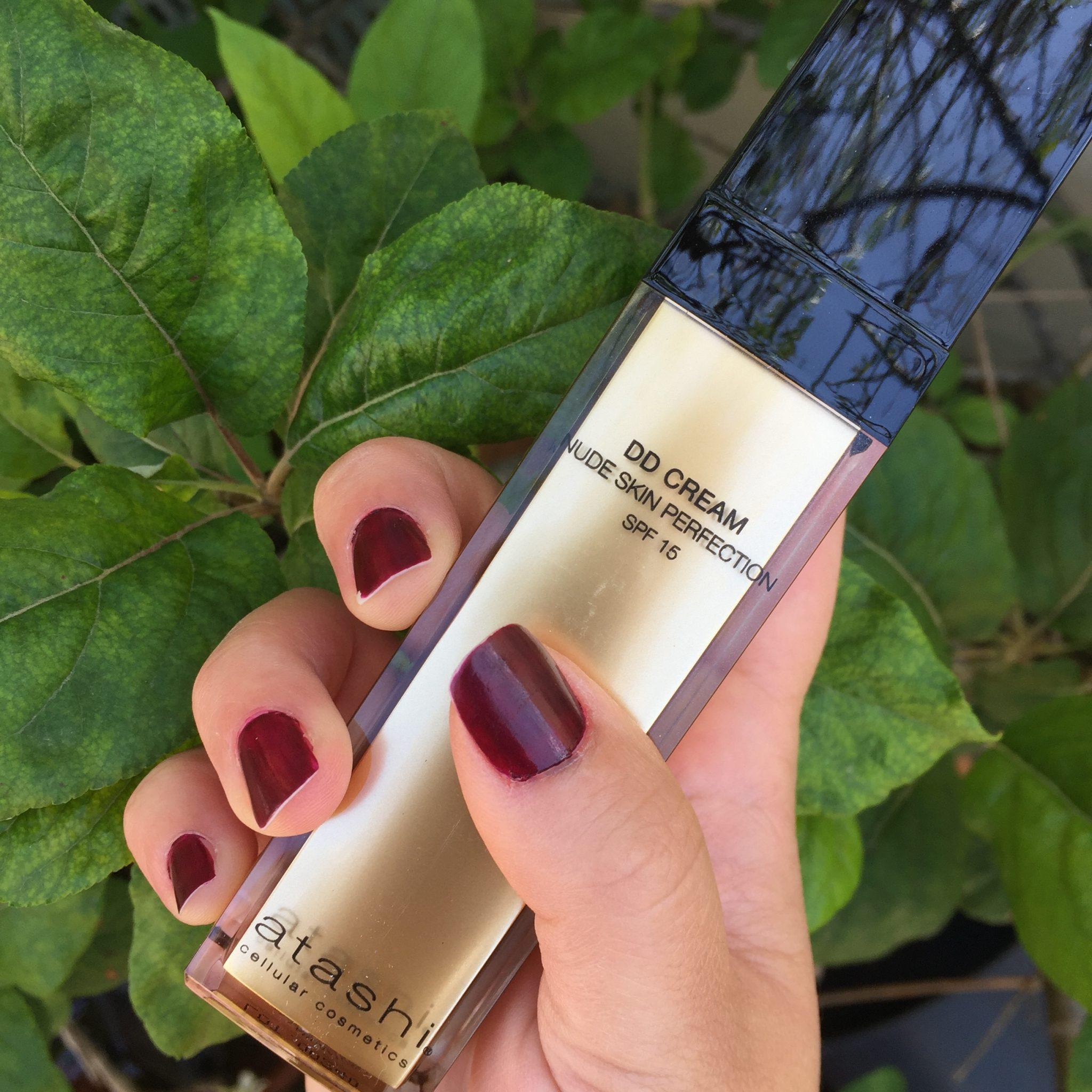 Probamos DD Cream nude skin perfection SPF 15 de Atashi
